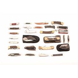 19HX- 22 KNIFE LOT