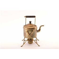 19RPS-49 TEAPOT WITH STAND & BURNER