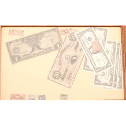 19KC-103 CURRENCY & STAMPS