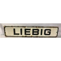 L I E B I G Enamel Sign