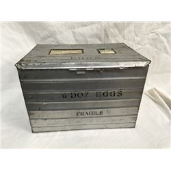 1940's Air Shipping Egg Crate