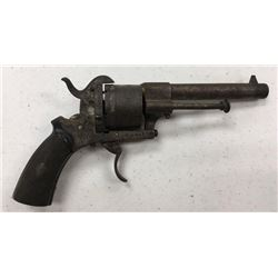 Engraved Pin Fire Revolver