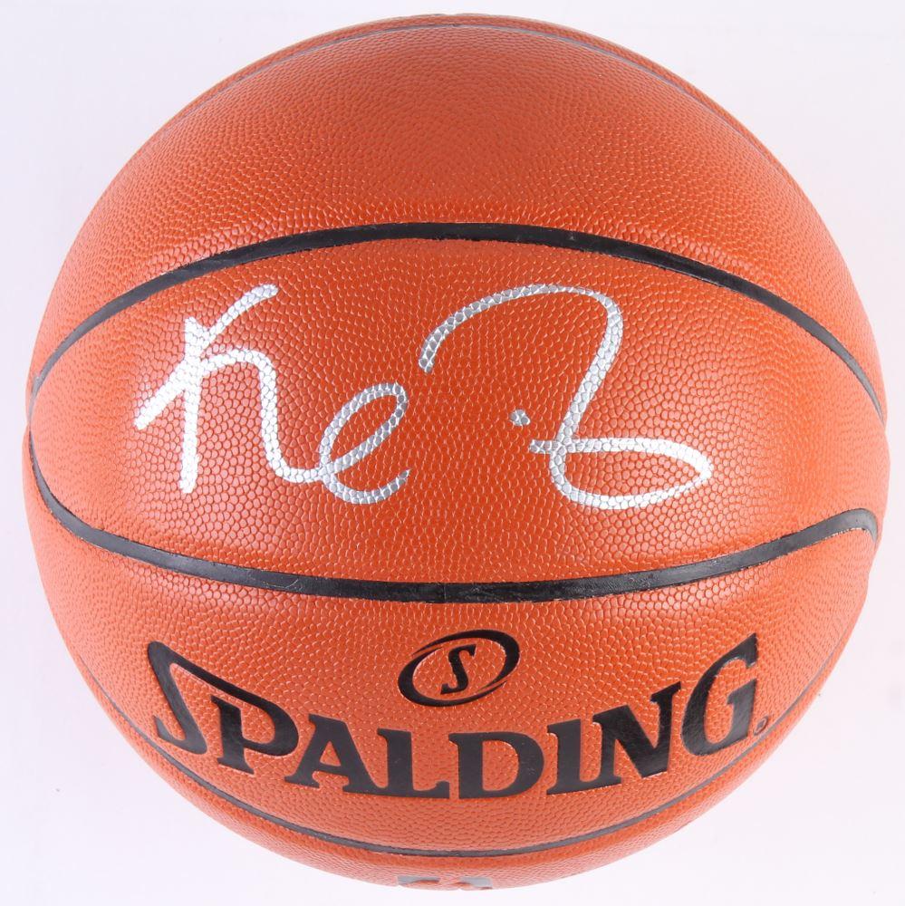 sale retailer 5c8d1 d8548 Kevin Garnett Signed NBA Game Ball Series Basketball (PSA ...
