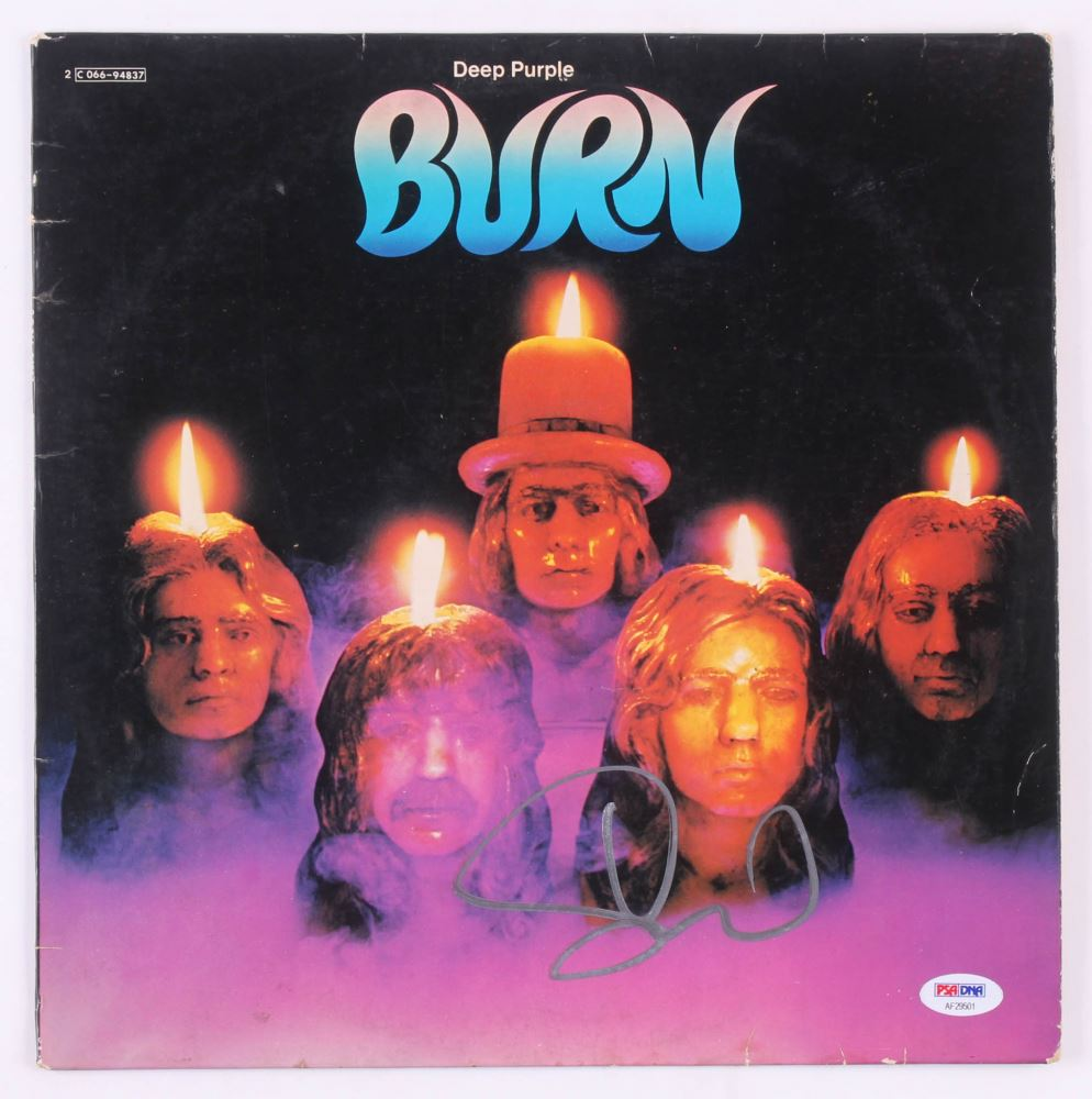 /'Burn/' Album Cover DEEP PURPLE Poster Wall Art Reproduction