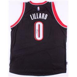 buy online 85323 45b6c Damian Lillard Signed Portland Trail Blazers Jersey (JSA COA)