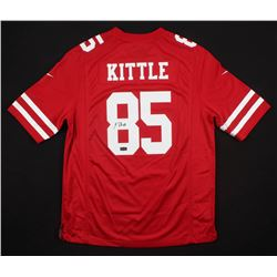 cheap for discount a3f99 f6ae7 George Kittle Signed San Francisco 49ers Jersey (Radtke COA)