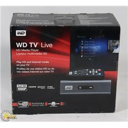 WD TV LIVE HD MEDIA PLAYER / STREAMER