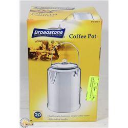 NEW BROADSTONE PERCOLATOR COFFEE MAKER