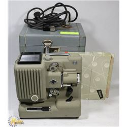 VINTAGE EUMING P8 MOVIE PROJECTOR IN CASE