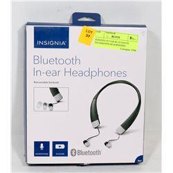 INSIGNIA IN EAR BLUETOOTH NECKBANDS HEADPHONES