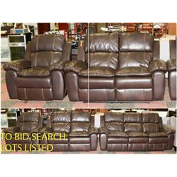 FEATURED NEW RECLINING SOFA SETS