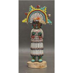 HOPI INDIAN KACHINA (BOBBY LOMAHOMA)