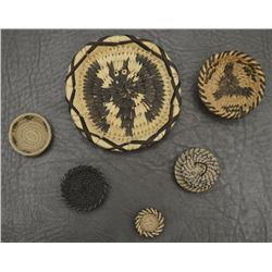 COLLECTION OF PAPAGO INDIAN BASKETS