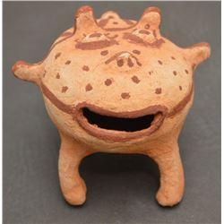 MOHAVE INDIAN POTTERY FROG