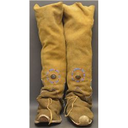 APACHE INDIAN HIGH TOP MOCCASINS