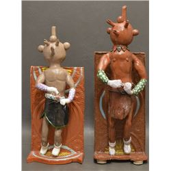 POTTERY SCULPTURES