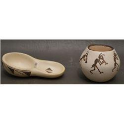 HOPI INDIAN POTTERY (DAISY HOOEE NAMPEYO)