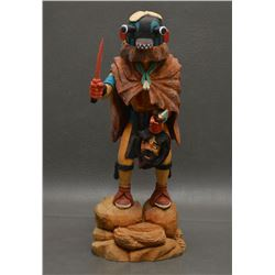 HOPI INDIAN KACHINA (MARVIN JIM)