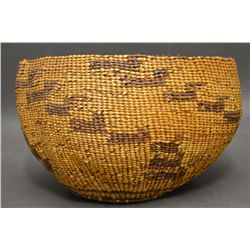 BAMTUSH POMO INDIAN BASKET