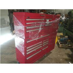 """Homak Professional Tool Box Cabinet 5' x 5' x 18"""""""