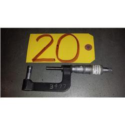 "Scheer-Tumico Tube Micrometer 1""-2"""