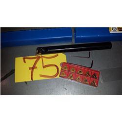 New Precision CNC Boring Bar with TNMG-331 inserts