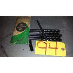 """Precision Twist Drill Core Drill .4010"""" (just under 13/32"""")"""