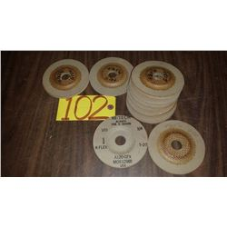 "Stainless buffing Disc 4""1/2"