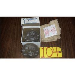 "Rubber Abrasive Hi-Tech buffing Disc 4""x 1/4""x 1/4"""