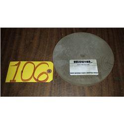 """Rub-O-Cut Rubber Wheel 7"""" x 3/4"""" x 1/2"""" Grit: A180"""