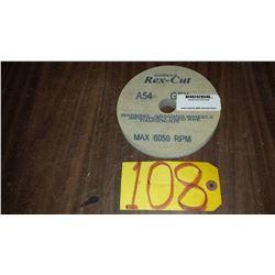 "Rex-Cut buffing Disc 6"" x 3/4"" x 1"" Grit: A54"