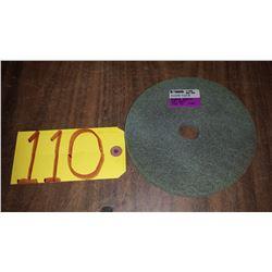 "Standard Abrasive Soft Density Scotch-Brite Buffing Wheel 6"" x 1/2"" x 1"""