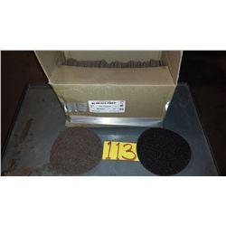 "Rapid Change Velcro 7"" Ex-Coarse Brown Scotch-Brite Disc"
