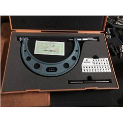"""Mitutoyo 126-142 Thread Pitch Micrometer 5""""-6"""""""