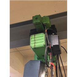 3 ton RWM electri hiis with motorized trolley (untested)