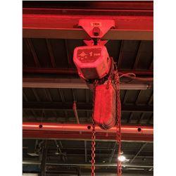 Jet 1 Ton electric hoist no trolley