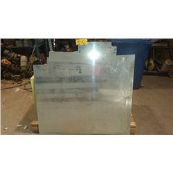 """Aluminum Sheet 47"""" x 48"""" (uncut part) x 0.040"""""""
