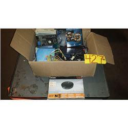Box of assorted Electrics