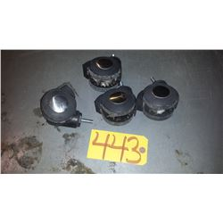 Set of (4) Wheels