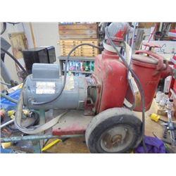 Jacuzzi Pump with Motor 110/220v et 16/8 amp
