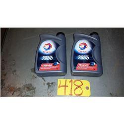 TOTAL Diesel OIL 15W40