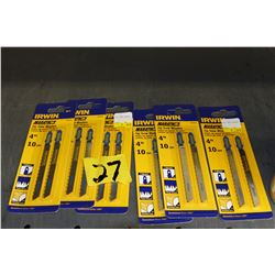 jig saw blades 6 packages