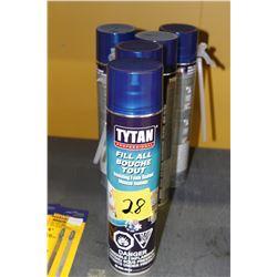 foam insulation 6 cans