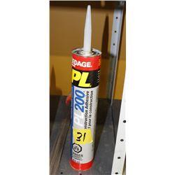 contruction adhesive 6 tubes