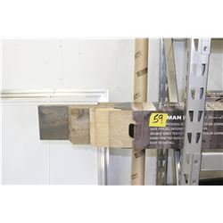 modern rustic reclaimed inspired siding trim greys 4 boxes