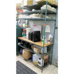 Metro 5 Tier Adjustable Metal Wire Shelving Unit