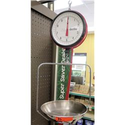 Hanging Chatillon 10 Pound Weight Scale
