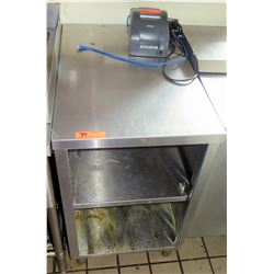 "Stainless Prep Table w/ Undershelf 21""x32"""