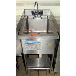 "Hand Washing Sink w/ Splash Guard 19.5""x31.5""x35"""