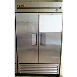 "True 2-Door Refrigerator Model T-43 (47"" x 29.5""D x 79""H)"